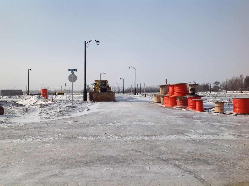 K-Phase 2 Construction- Right hand corner will be 30' Detached lots (Barons and Red Tree)