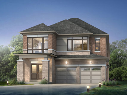 Paradise developments whitby meadows sneak cromwell for Detached townhomes