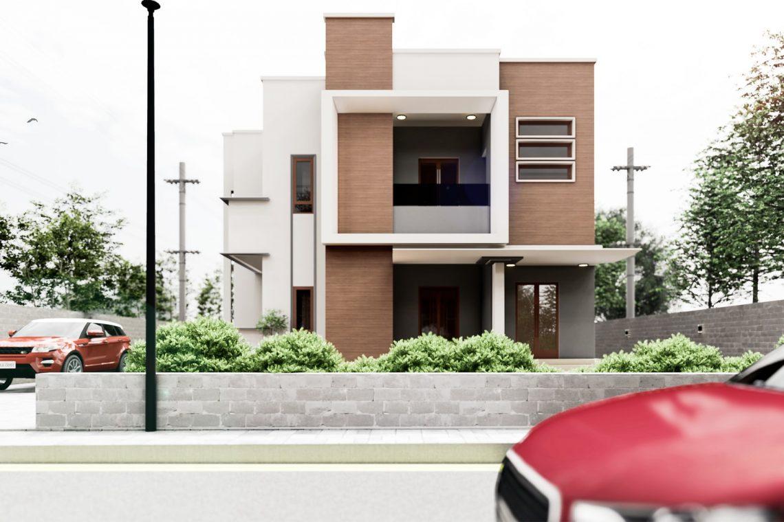 modern house exterior - paradise developments