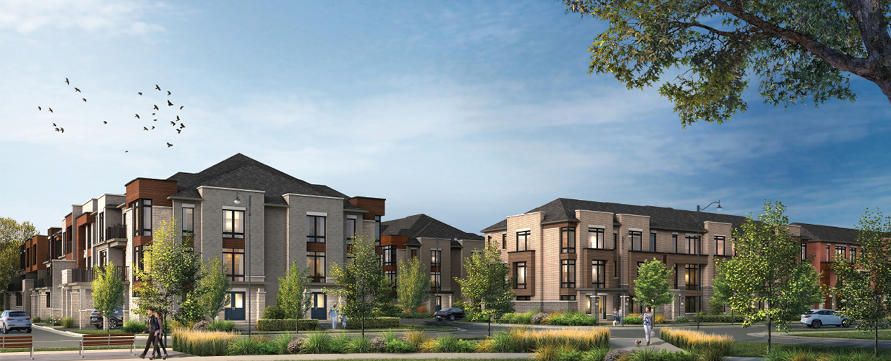 COMING THIS SPRING - A SELECTION OF TOWNHOMES IN SOUTH AJAX