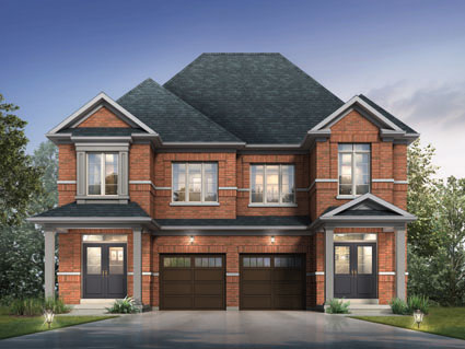 Paradise developments high point semi detached homes for Detached townhomes